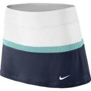 NWT Nike Court Dri-fit Navy Tennis Skort - Small
